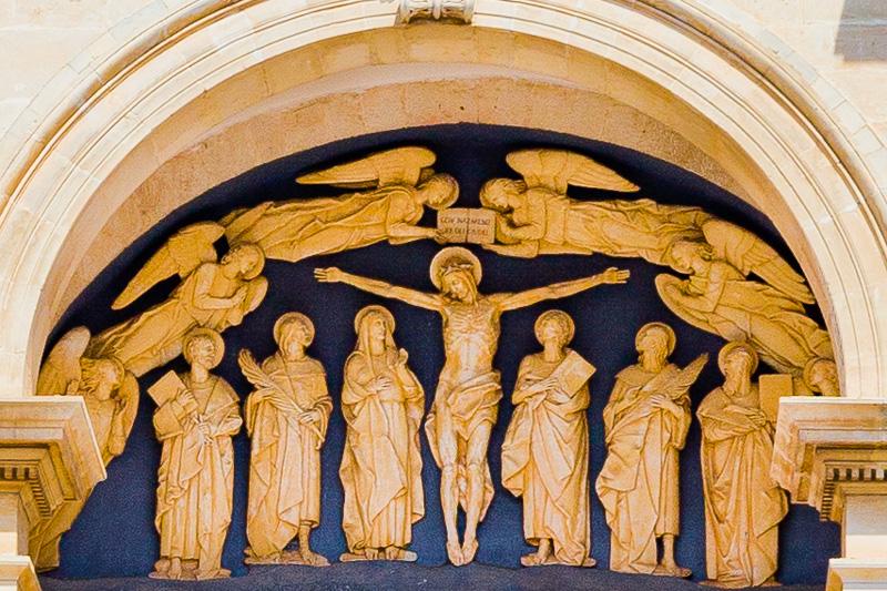 La lunetta della Basilica dei Santi Medici