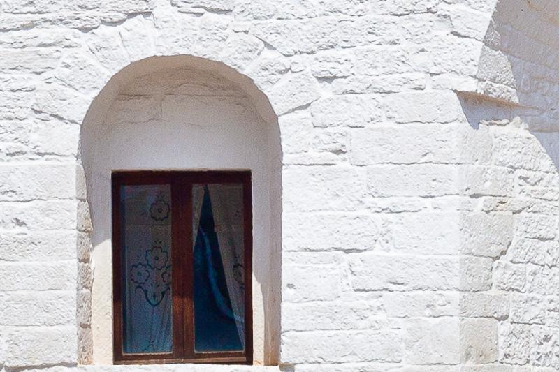 La finestra del Trullo Sovrano