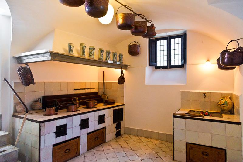 La cucina di Villa San Michele