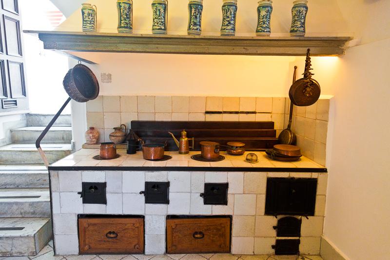 La vecchia cucina di Villa San Michele
