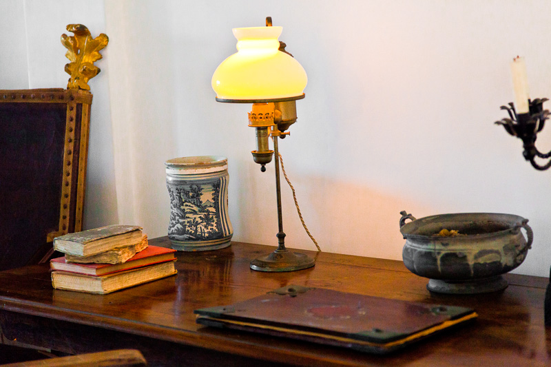 La piccola scrivania di Axel Munthe