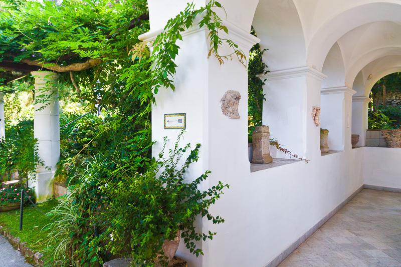 Il giardino di Villa San Michele