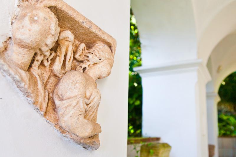 Una scultura di epoca romana