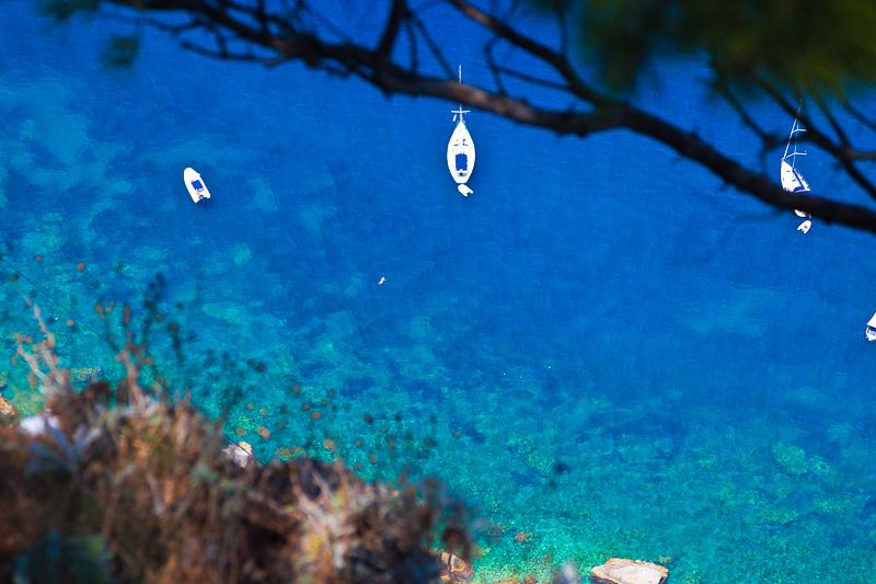 Il mare azzurro