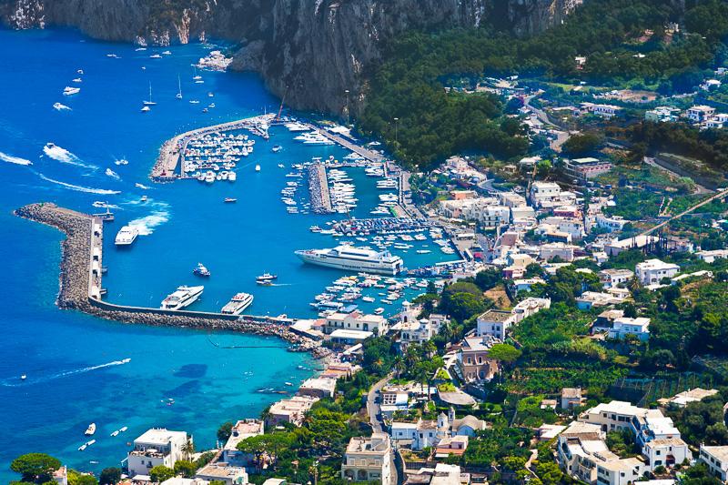 Il porto Marina Grande di Capri