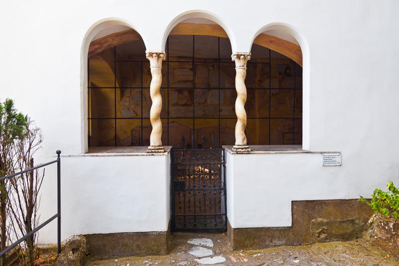 Ingresso della Villa Capodimonte