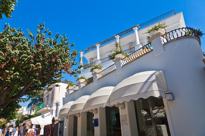 """L'hotel """"Blu Capri"""""""