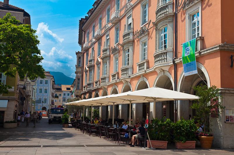 Il palazzo dello Stadth Hotel Città