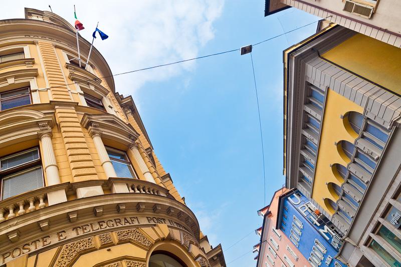 Il palazzo delle Poste e Telegrafi