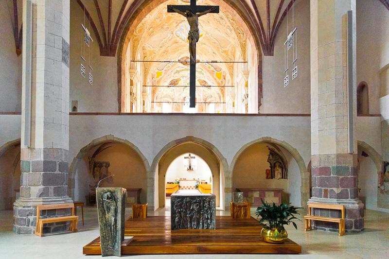 Il presbiterio della chiesa dei Domenicani