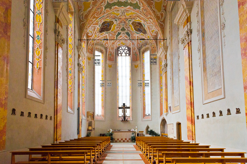 Una cappella della chiesa dei Domenicani