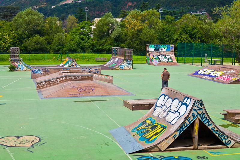 Pedane per Skateboard