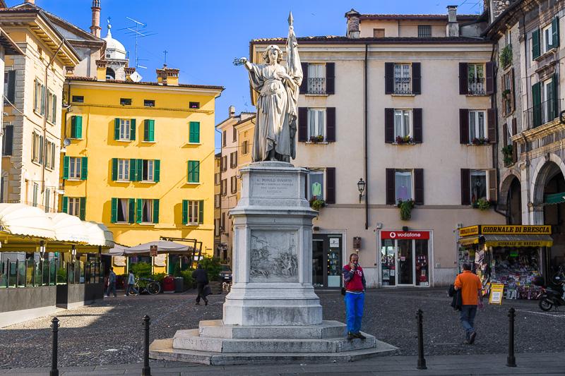 Il monumento alla Bella Italia