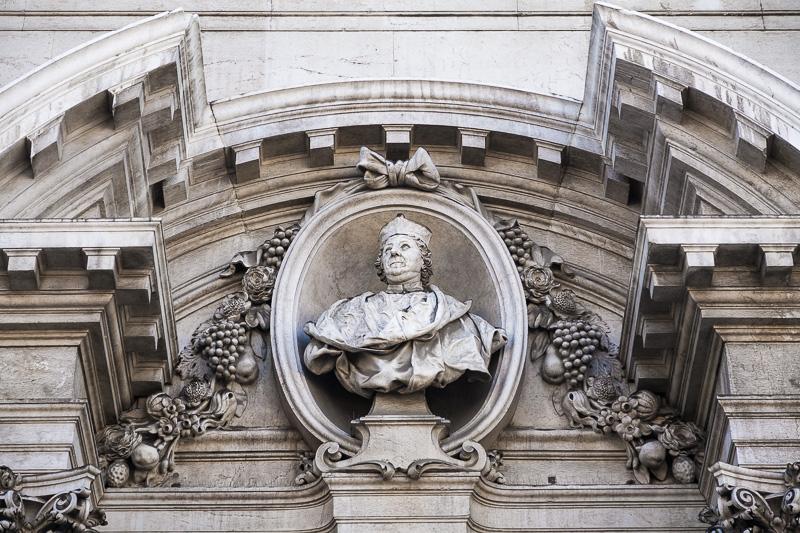 Il busto del Cardinale Angelo Maria Querini