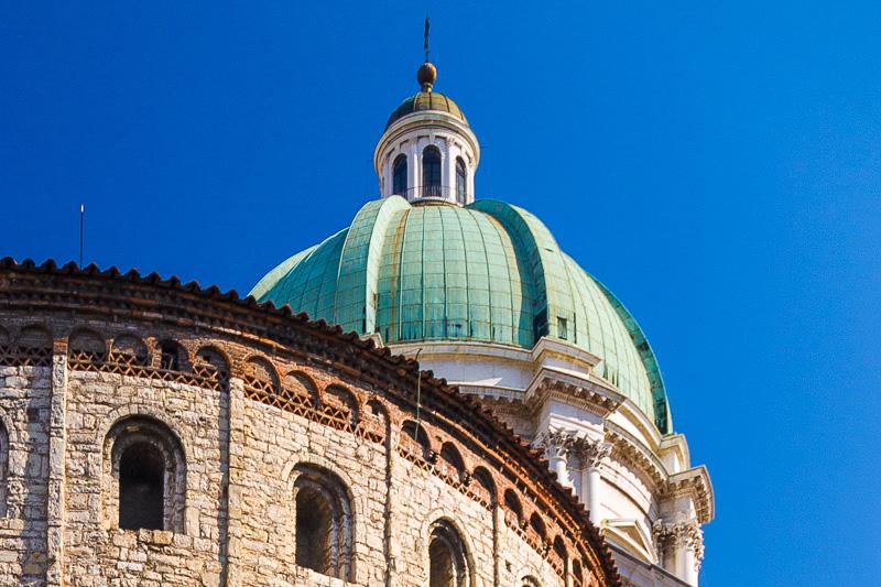 La cupola del Duomo Nuovo