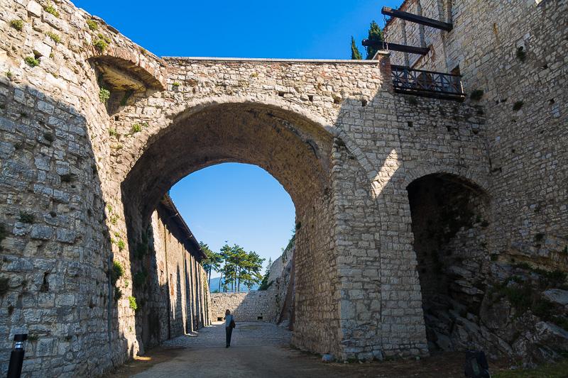 Ponte levatoio della rocca Viscontea