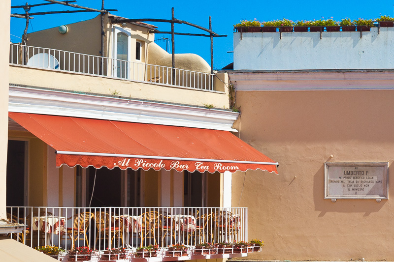 """Il terrazzino di """"Al Piccolo Bar"""""""
