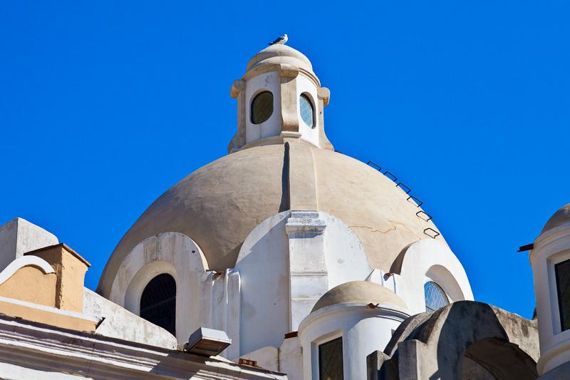 La cupola dell'ex cattedrale di Santo Stefano