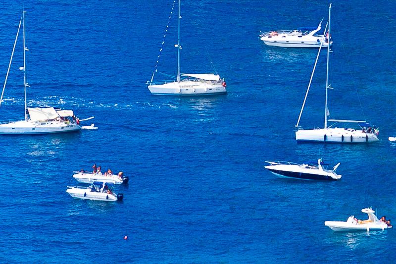 Imbarcazioni in mare