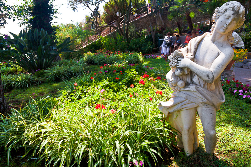 Una statua nei giardini di Augusto