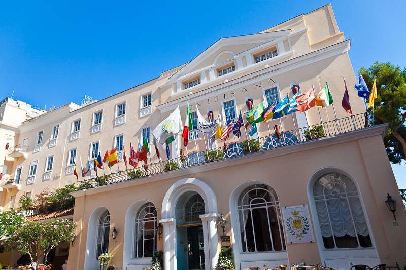 Il grand hotel Quisisana
