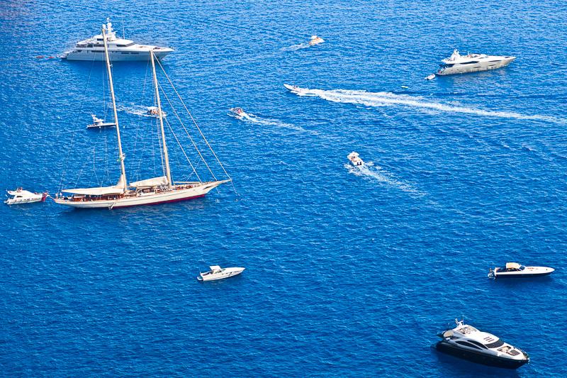 Imbarcazioni sul golfo