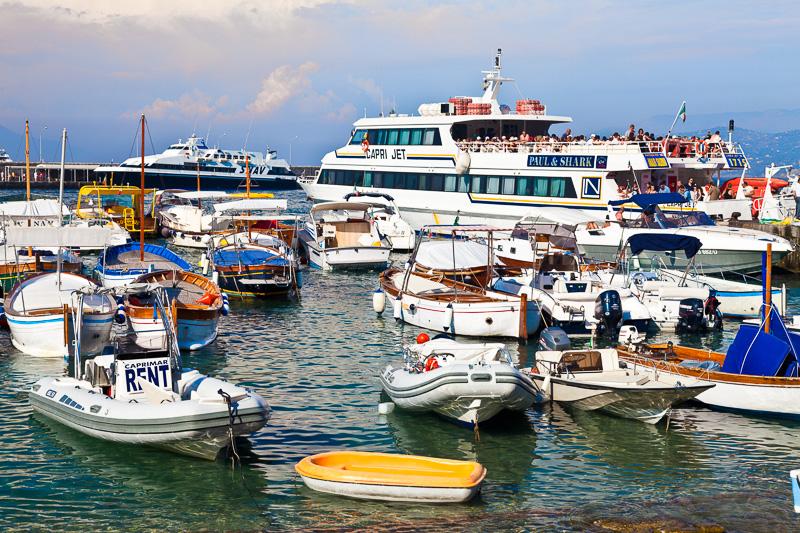 Il porto di Marina Grande