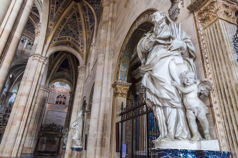La statua di San Girolamo