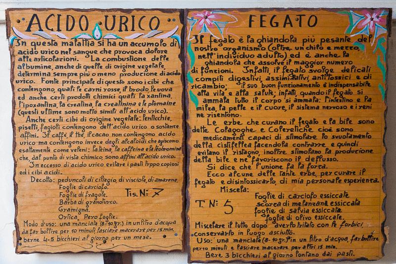 Antichi ricettari in legno