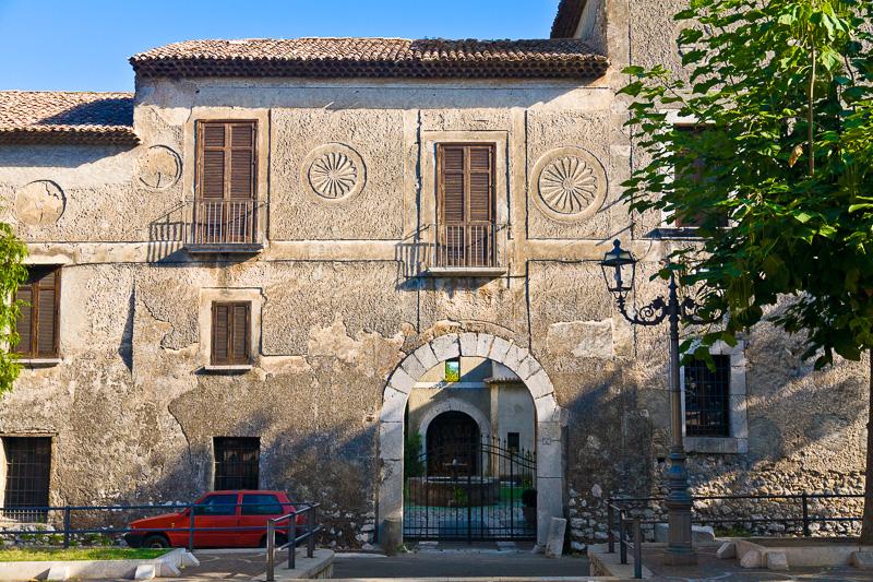 La facciata di palazzo Marchesale