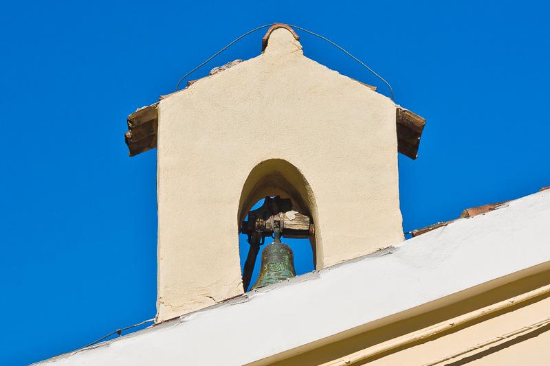 Il campanile della chiesa Santa Maria della Valle