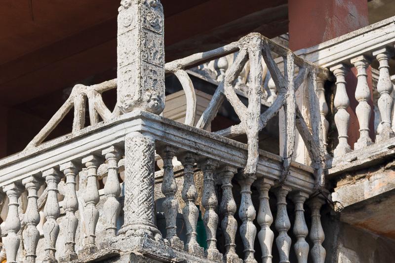 Il balcone della casa del mago