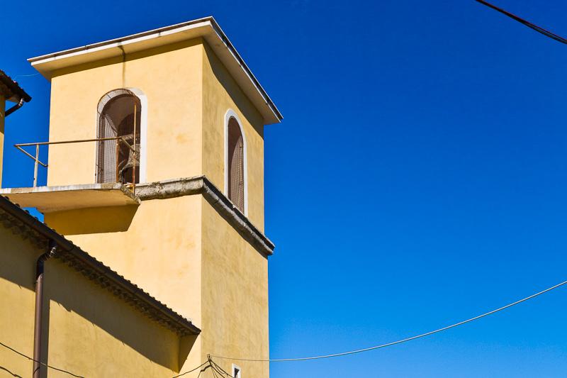 Il campanile della chiesa di San Nicola