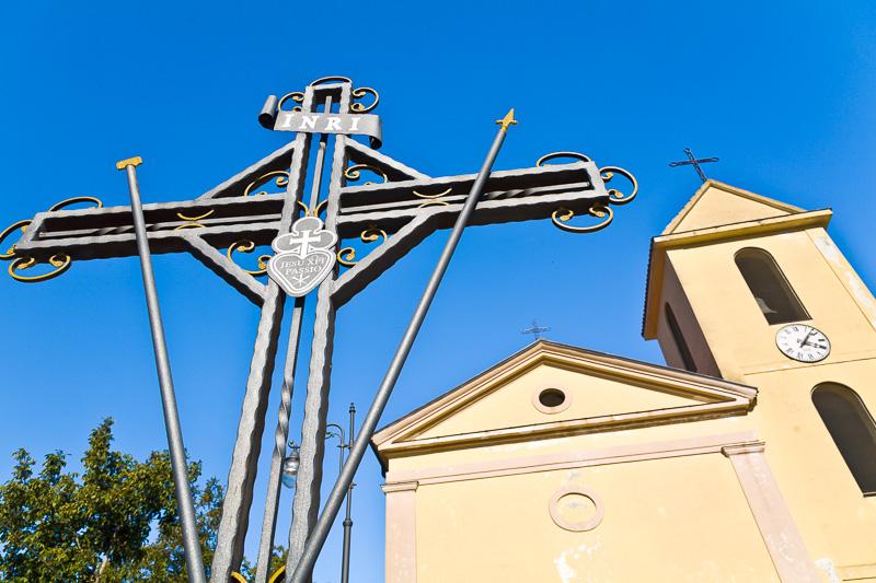 Croce in ferro battuto