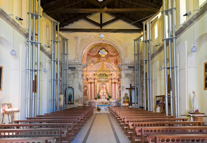 La chiesa della Madonna del Carmelo