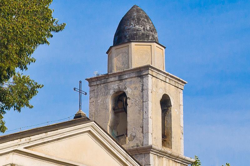 Il campanile della vecchia chiesa di San Marciano Vescovo