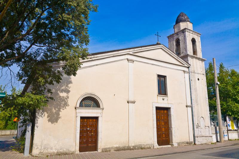 La vecchia chiesa di San Marciano Vescovo