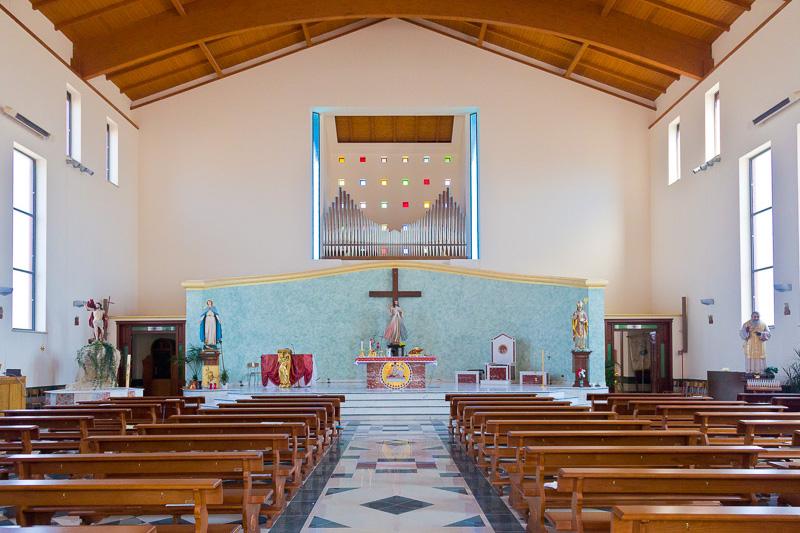La nuova chiesa di San Marciano
