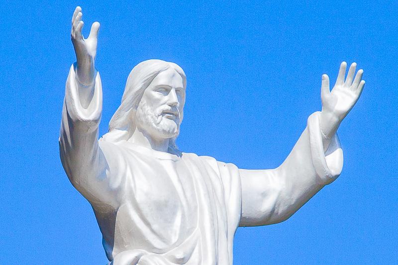 La scultura di Gesù di Nazareth