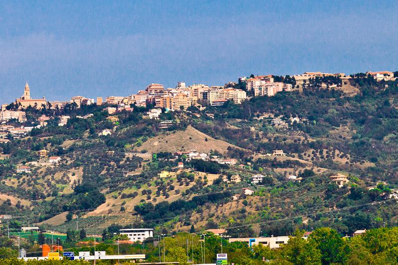 Panorama di Chieti Alta