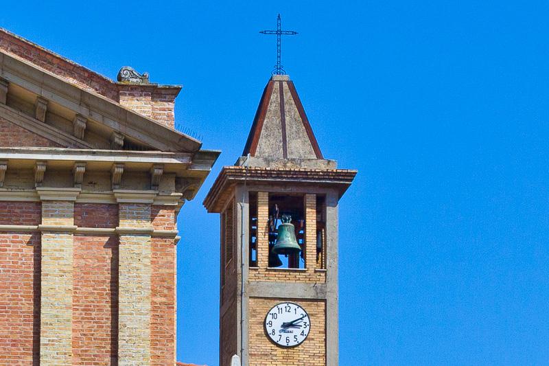 Campanile della chiesa del Sacro Cuore