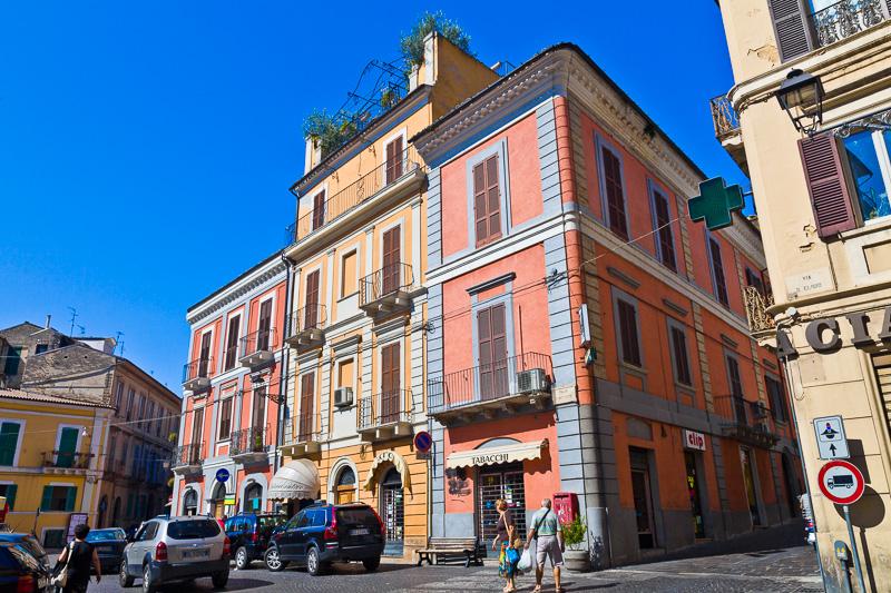 Palazzo in piazza Matteotti
