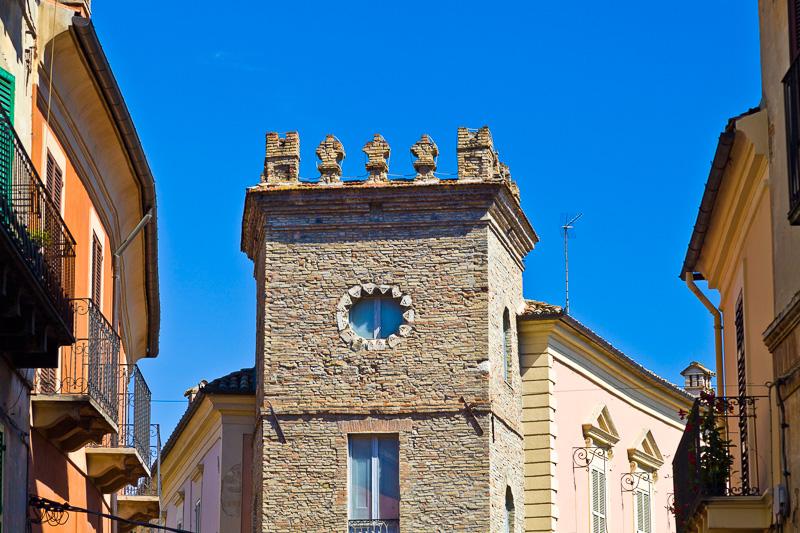La torre di palazzo Toppi