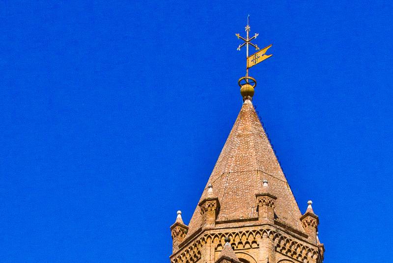 Il campanile della cattedrale di San Giustino