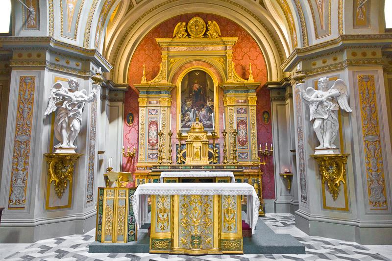 Cappella del Santissimo Sacramento nella cattedrale di San Giustino