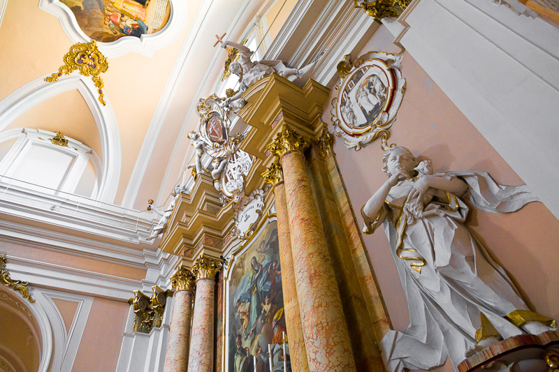 Cappella dell'Immacolata nella Cattedrale di San Giustino
