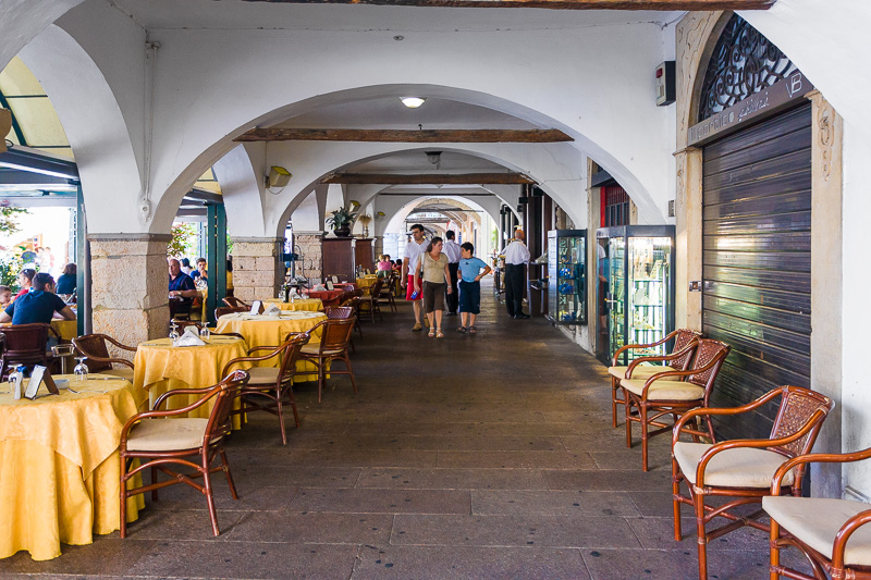 Porticato di piazza Giuseppe Malvezzi