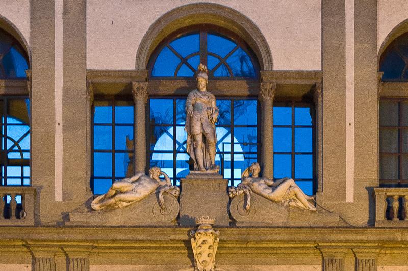 La statua di Cosimo I
