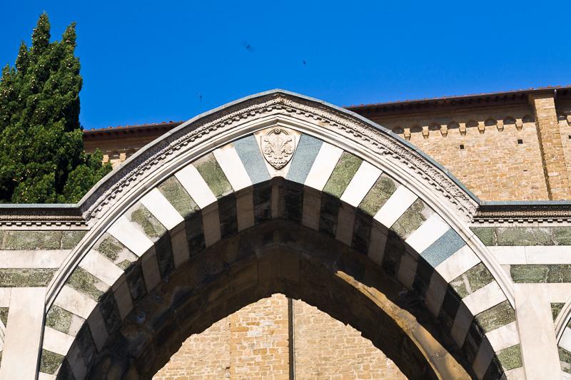 Un avello della basilica di Santa Maria Novella