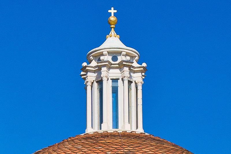 La lanterna della cupola